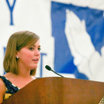 2009 Caroline Davidson, Speaker and Prayer Testimony, Marietta High School